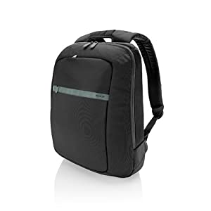Belkin Core Laptop Backpack (Pitch Black/Soft Gray) fits up to 15.6-Inch laptops by Belkin Components