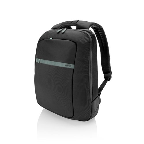Belkin Core Laptop Backpack (Pitch Black|Soft Gray) fits up to 15.6-Inch laptops