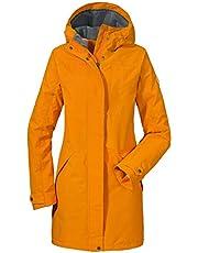 Schöffel Malmö Damen Parka, leichte Damen Jacke für Frühjahr und Sommer, wasserdichte Sommerjacke für Frauen mit praktischen Taschen