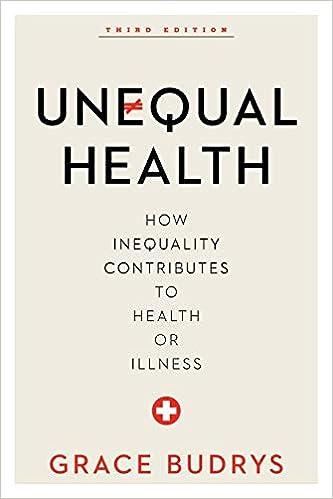 Amazon.com: Unequal Health (9781442248502): Grace Budrys: Books