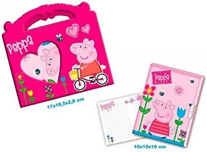 Copywrite - Diario peppa pig en caja bolsito: Amazon.es: Juguetes ...