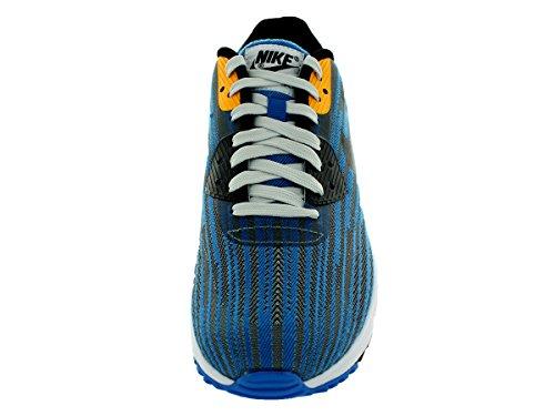 Nike Air Max Lunar90 WR Mens Running Shoes Light Ash Grey/Black/Photo Blue/Black 0H8y3Ip8oy