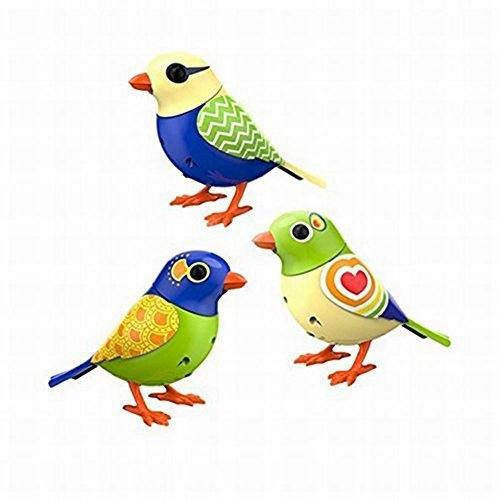 Digi Birds Twinkle's Trio- Set of 3 Digibirds