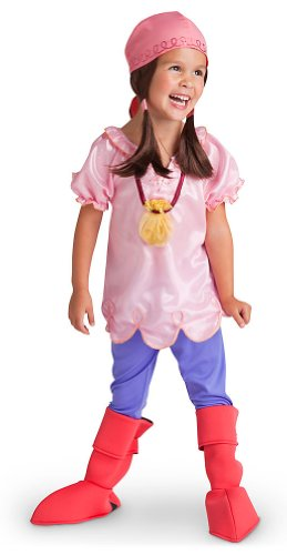 [Disney Store Izzy Costume Size Small 5/6 Jake and the Never Land Pirates] (Costume Land)
