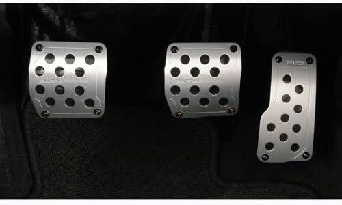 Razo RP123A Super Grip Silver Manual Transmission Pedal Set 3 ...