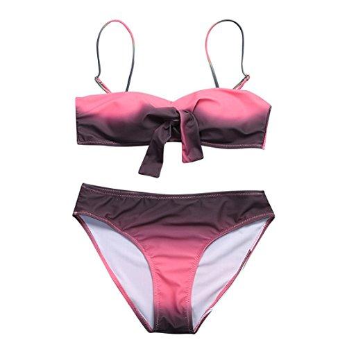 Bagno Sexy Beachwear Rosa Brasiliano up Set Costume Push Ragazze Estate Leey Costumi Bikini Donna Mano Da Mutande Donne 4qPw80R