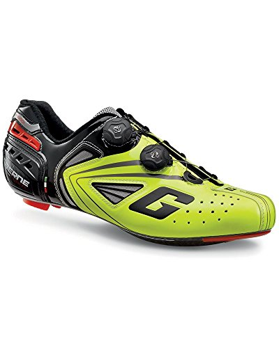 Gaerne Carbon Speedplay G. Chrono Schuhe Racefiets, Gele Fluo - 42,5
