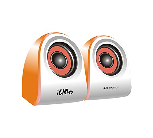 Zebronics ZEB  IGLOO 2.0 Multimedia Speaker with Volume Control   USB/3.5mm Jack Input