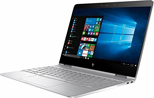 "2017 HP - Spectre x360 13-AC013DX 2-in-1 13.3"" Touch-Screen Laptop - Intel Core i7 - 8GB Memory - 256GB Solid State Drive - Natural silver (Certified Refurbished)"