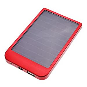 Piaopiao 2600mAh Solar Battery Charger for Mobile Devices