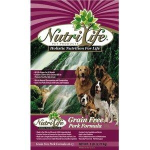 Nutri Life GF Pork Dog Food 15lb