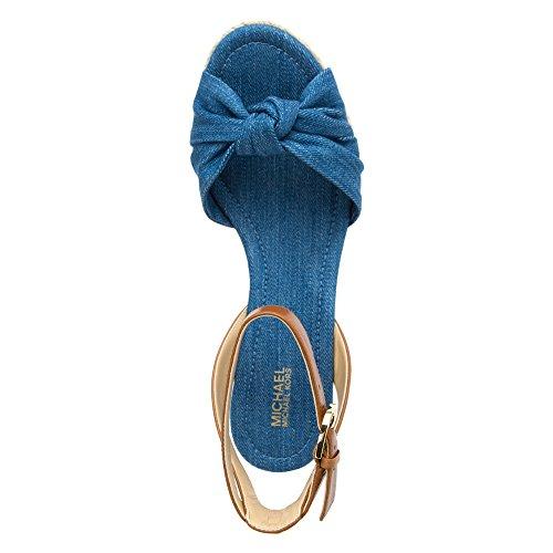 40S6MXMA2DLTDENIM Michael Kors Cuñas Mujer Tejido Azul Blu