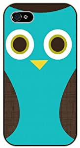 iPhone 4 / 4s Bible Verse - Baby owl face - black plastic case / Verses, Inspirational and Motivational