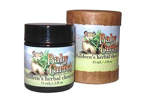 Herbal Chest Rub Wild Carrot Herbals 60 ml (2 fl oz) Cream