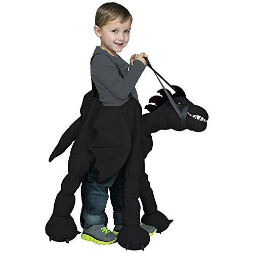 Fun World Ride-A-Dragon Toddler Costume, One Size 4 - 6, Multicolor