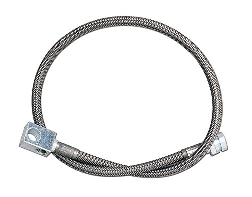 "Rubicon Express RE1515 18"" Rear Stainless Steel Brake Line"