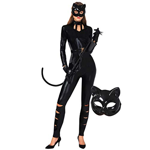 Unique Costumes Ideas For Women - Spooktacular Creations Classic Halloween Catwoman Costume