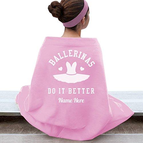 Ballet Dance Blanket Custom Name: Gildan Dryblend Stadium Blanket by Customized Girl (Image #1)