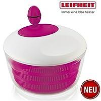 Leifheit 23074 Küchenhelfer - Salatschleuder Trend Colour Edition pink