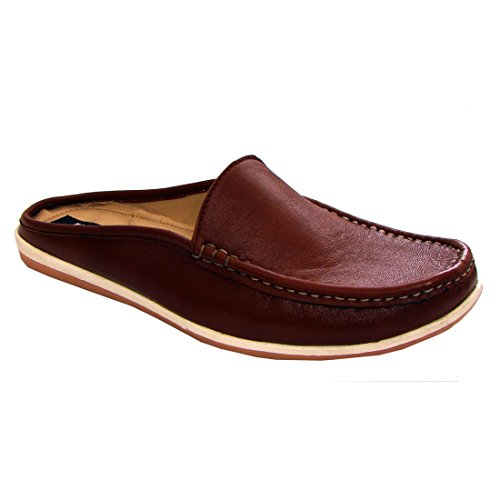 30%OFF Tan Color Nappa Leather Slipon Loafers For Men (Ultra Comfort PU Insoles, Soft Fleece Lining)