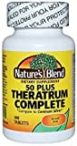 Nature's Blend Theratrum Complete 50 Plus with Lutein and Lycopene 100 Tablets For Sale