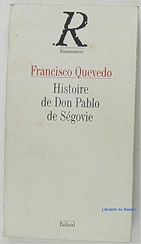 Livre gratuits Histoire de don pablo de segovie epub, pdf