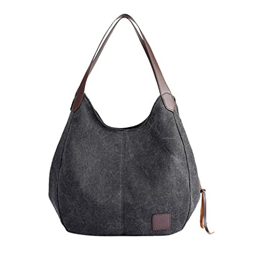 Tote Single Messenger Bags Women Canvas Quality Handbags Female Clearance Black Bag Shoulder Handbags Vintage Xinantime Hobos High Sale Bag gHOwBg7nZ