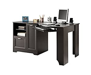 Realspace Magellan Collection Corner Desk, Espresso