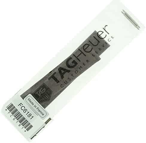 TAG Heuer Men's FC6181 Leather Watch Band