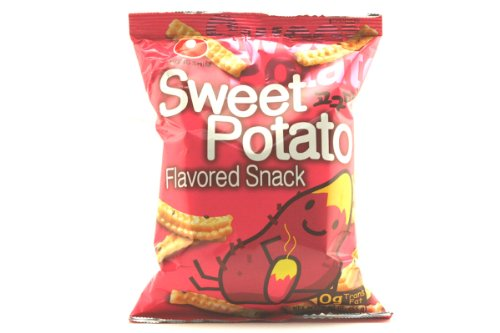 Sweet Potato Flavored Snack  193oz Pack of 6