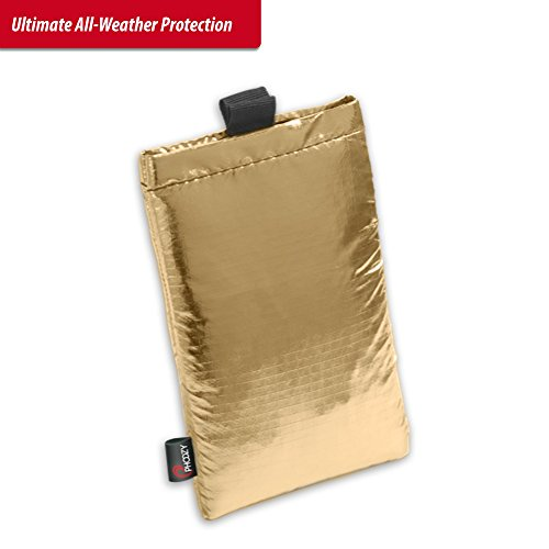 Phoozy Xl   Thermal Protective Phone Pouch   Heat  Cold  Drop And Float Protection   Apollo Gold