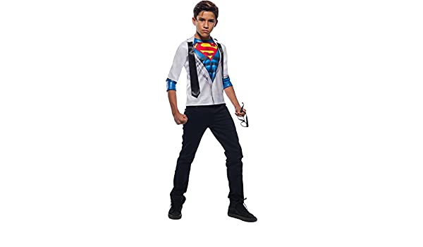 Photo Real Superman Boys Costume Top