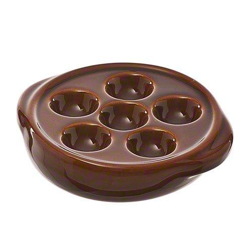Browne (744046) 6-Hole Escargot Plate