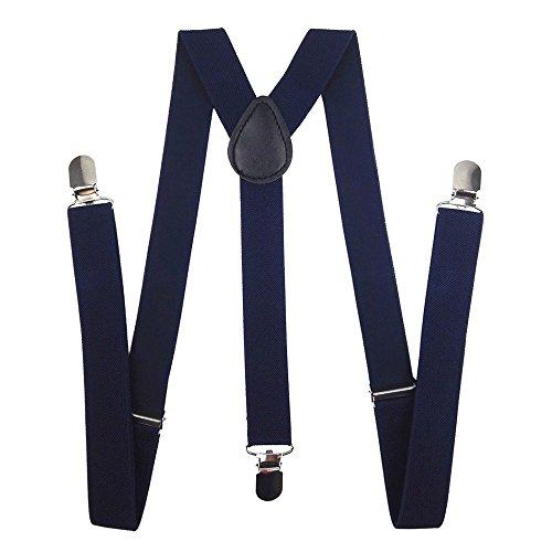 Navy Blue Suspenders - 3