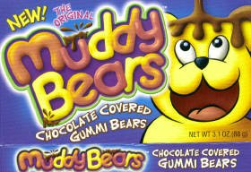 Muddy Bears 3.1 Ounce Theatre Box (3 Pack)