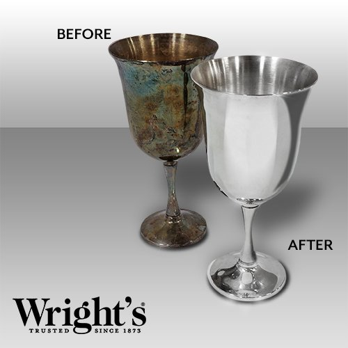 Wright's Silver Cleaner and Polish Cream - 4 Pounds - Ammonia Free - Gently Clean and Remove Tarnish Without Scratching by Wright's (Image #3)