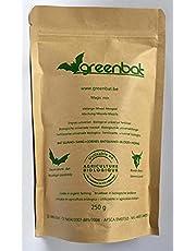 GREENBAT 250 g, NPK 7-6-3 granulaat, biologische vleermuis Guano meststof, runderbloed en hoornmeel.
