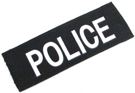 イーグル模型 POLICE・パッチ Sサイズ 90x30mm 5453-11-S