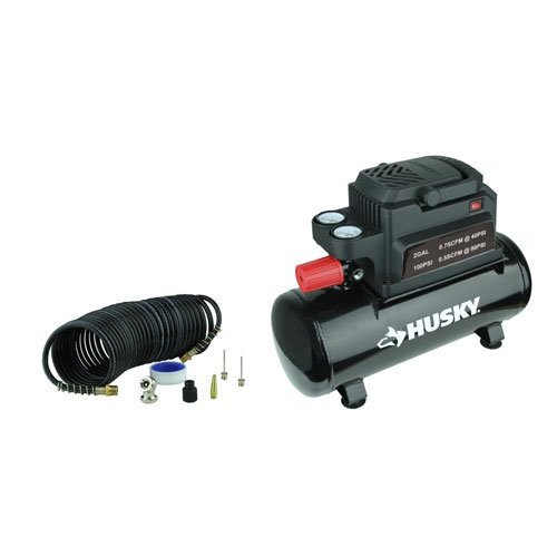 Husky 0100211A 2 Gal. Electric Hotdog Air Compressor