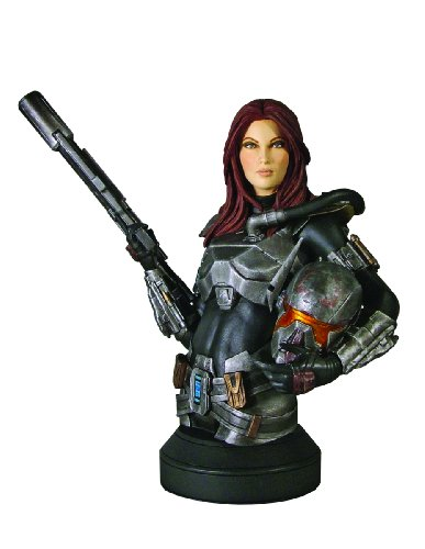 Gentle Giant Studios Star Wars: Shae Vizla Mini-Bust (Star Wars The Old Republic Bounty Hunter Armor)