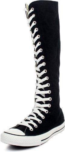 Converse Chuck Taylor XX-Hi Zipper Shoes in Black (1V708), Size: 6.5 D(M) US Mens / 8.5 B(M) US Womens, Color: Black
