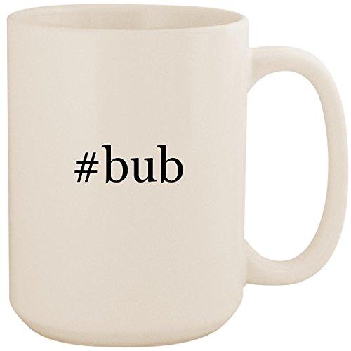#bub - White Hashtag 15oz Ceramic Coffee Mug Cup