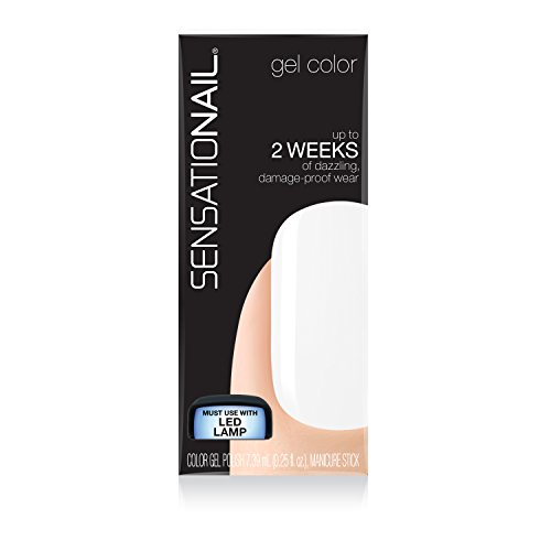 SensatioNail Color Polish White Lily product image