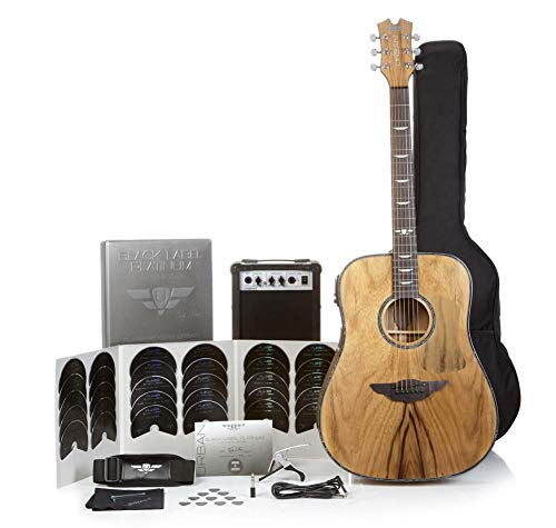 Keith Urban Black Label Platinum Limited Edition 50-PC Guitar Pkg – Acoustic-Electric – Taupe