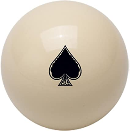 Outlaw Spade Cue Ball Spades Pool Balls