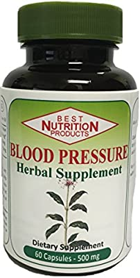Blood Pressure Herbal Supplement (Sarpagandha) 60 capsules