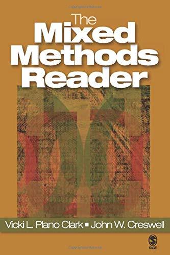 Mixed Methods Reader - The Mixed Methods Reader