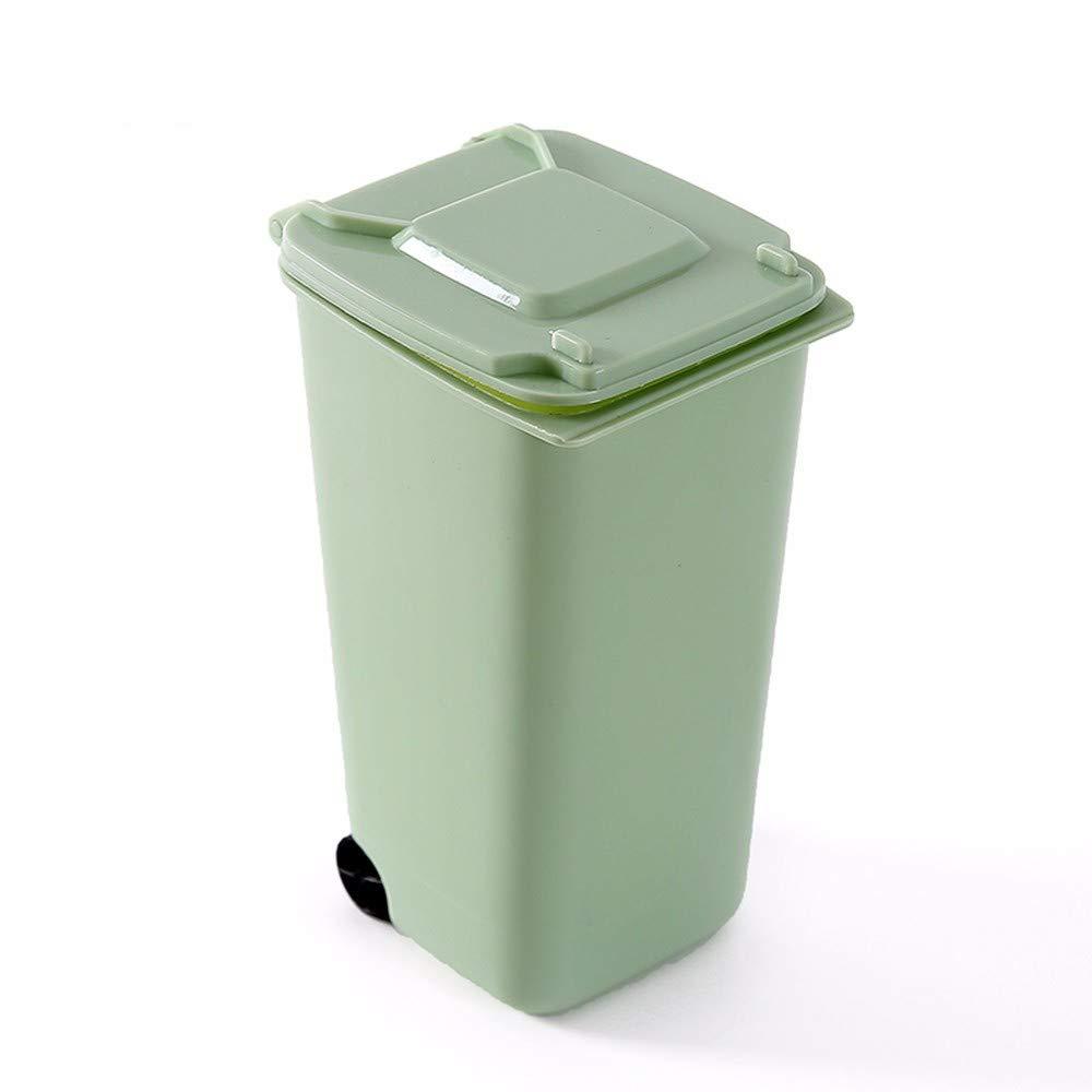 Amazon.com: H-M-STUDIO Garbage Cans Creative Mini Desktop ...