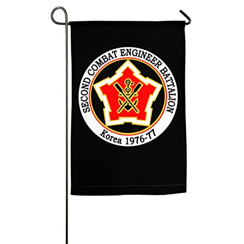- NPZBHoney30X45 US Army Unit 2nd Combat Engineer Classic Garden Flag Decorative Flags for Outdoors - 12