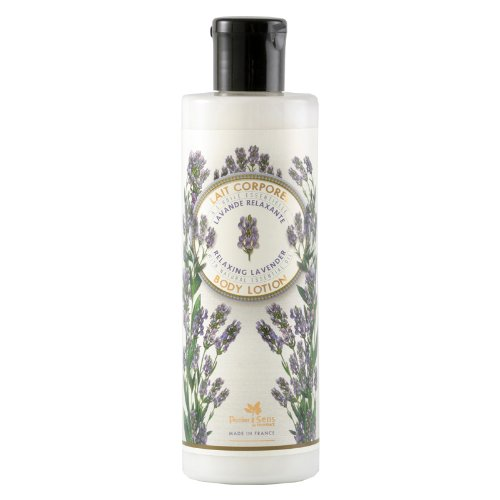 Lavender Scented Lotion (Panier Des Sens Body Lotion Relaxing Lavender with Essential Oils)
